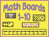 Number Boards 1-10