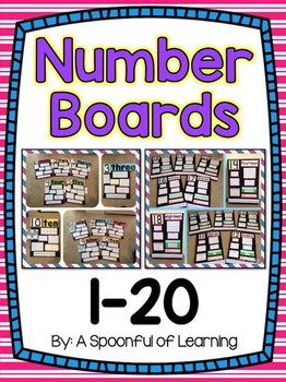 Number Boards 1-20!