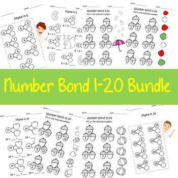 Number Bond 1-20 Bundle