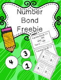 Number Bond 1-5 Freebie