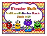Number Bond Addition (Monster Math Theme Pack)