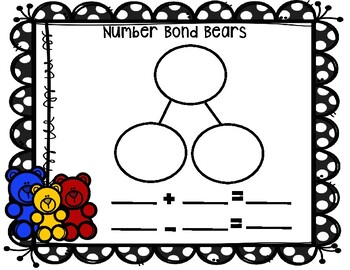 Number Bond Bears