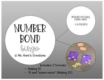 Number Bond Bingo