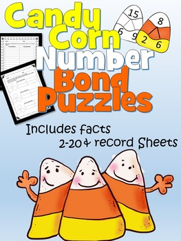 Number Bond Candy Corn Puzzles!