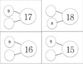 Number Bond Cards- Addition/subtraction Fluency thru 20