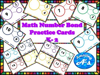 Number Bond Cards & Mat's