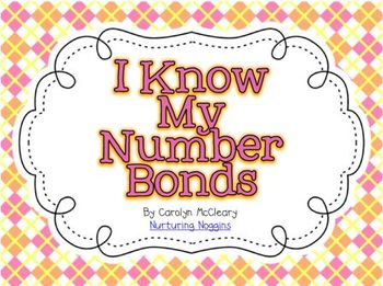 Number Bond Cards with Differentiated Recording Sheets (an