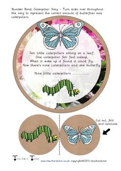 Number Bond Caterpillar Song