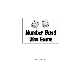 Number Bond Dice Game