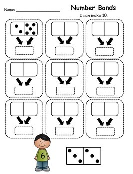 Number Bond Dominoes