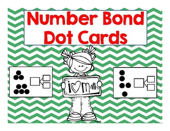 Number Bond Dot Cards
