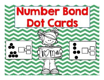 Number Bond Dot Cards