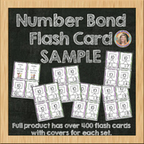 Number Bond Flash Card SAMPLE