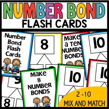 Number Bond Task/Flash Cards