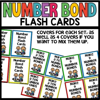 Number Bond Task cards | Flash Cards