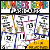 Number Bond Flash Cards 11 -20