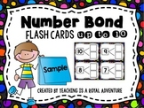 Number Bond Flash Cards Freebie