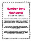 Number Bond Flashcards 11-20