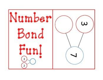 Number Bond Flashcards - Singapore Math/Math in Focus