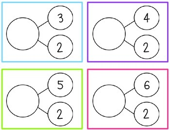 Number Bond Flashcards {237 Pages}