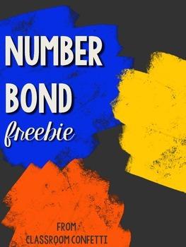 Number Bond Freebie