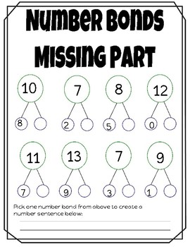 Number Bond Fun!