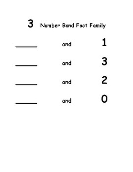 Number Bond Fun