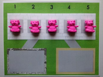 Number Bond Game (Sum of 5) - Five Little Pigs