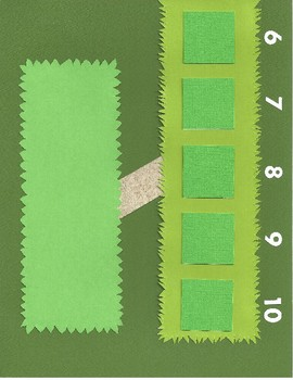 Number Bond Game (Sum of 10) - Hedgehogs in the Hedges