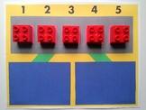 Number Bond Game (Sum of 5) - Brick by Brick