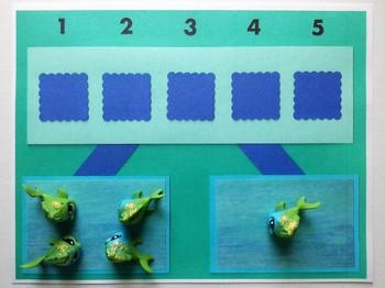 Number Bond Game (Sum of 5) - Fish Fun