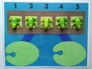 Number Bond Game (Sum of 5) - Frogs