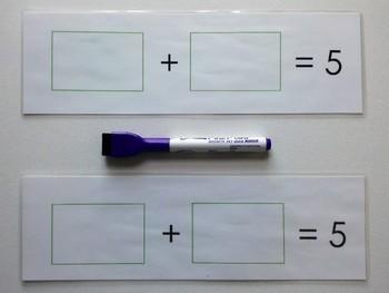 Number Bond Game (Sum of 5) - Jungle