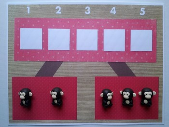 Number Bond Game (Sum of 5) - Monkey Business