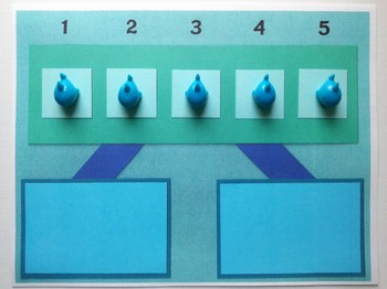Number Bond Game (Sum of 5) - Shark Central