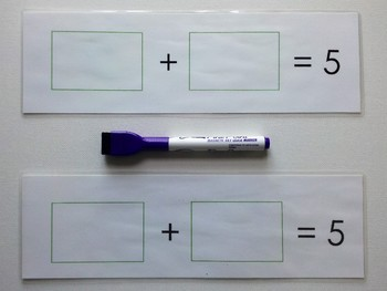 Number Bond Game (Sum of 5) - Strawberry Patch