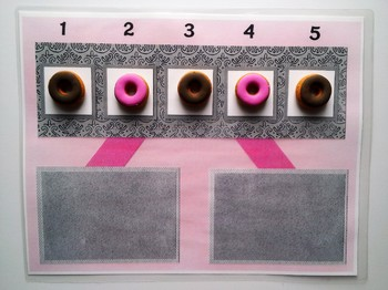 Number Bond Game (Sum of 5) - The Doughnut Shop