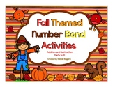 Number Bond Math Activities (Fall Themed)