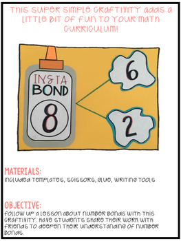 Number Bond Math Craft