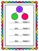 Number Sense Math Center -Number Bond Math Mats (Rainbow Colors)