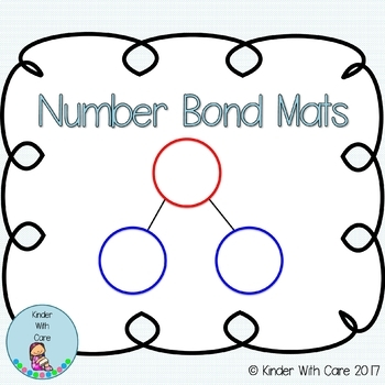 Number Bond Mats - Designed For Eureka Math