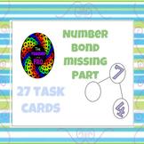 Number Bond Missing Part Task Cards (27 cards)