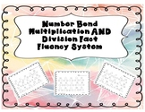 Number Bond Multiplication AND Division Fact Fluency System