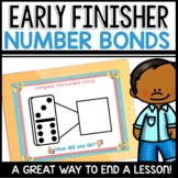Number Bond Practice Early Finisher Activity