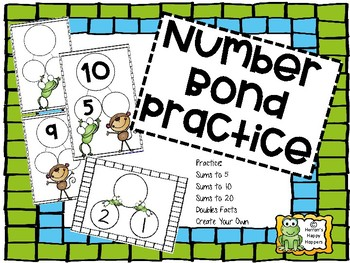 Number Bond Practice - Addition