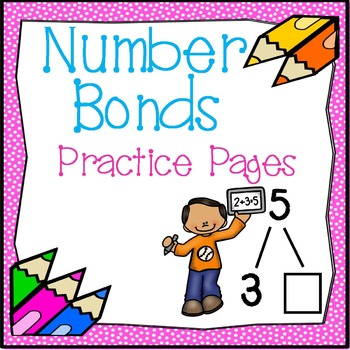 Number Bond Practice Pages