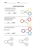 Number Bond Practice - Part-Part Whole Addition