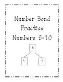 Number Bond Practice Set #s 5-10