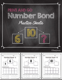 ***FREEBIE*** Number Bond - Practice Sheets (Eureka Math Companion)