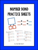 Number Bond Practice Sheets -- Engage NY, Eureka Math, Color, Intervention